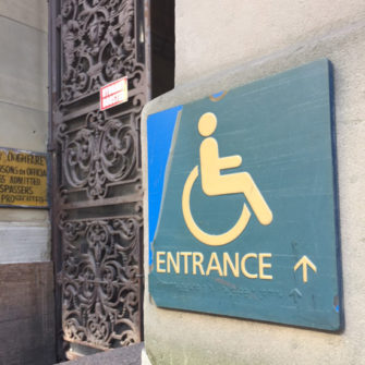 Disabled Access – Existing Buildings